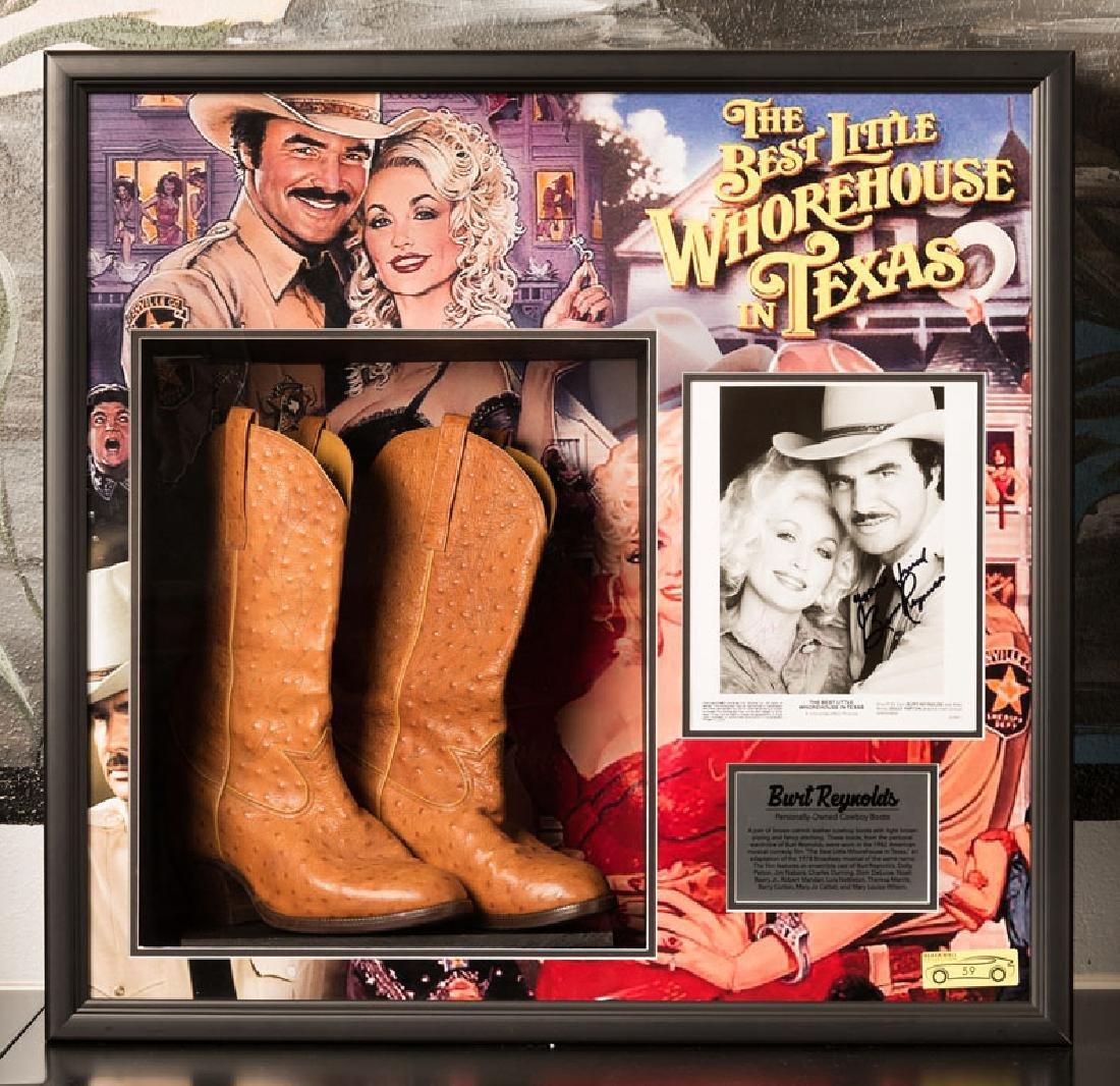 Burt Reynolds Cowboy Boots