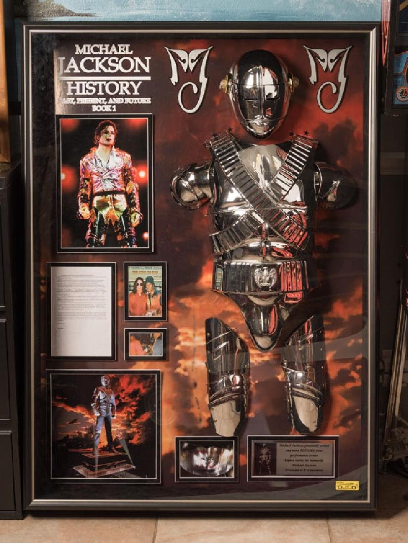 Michael Jackson's Personal Stage-Worn Armor