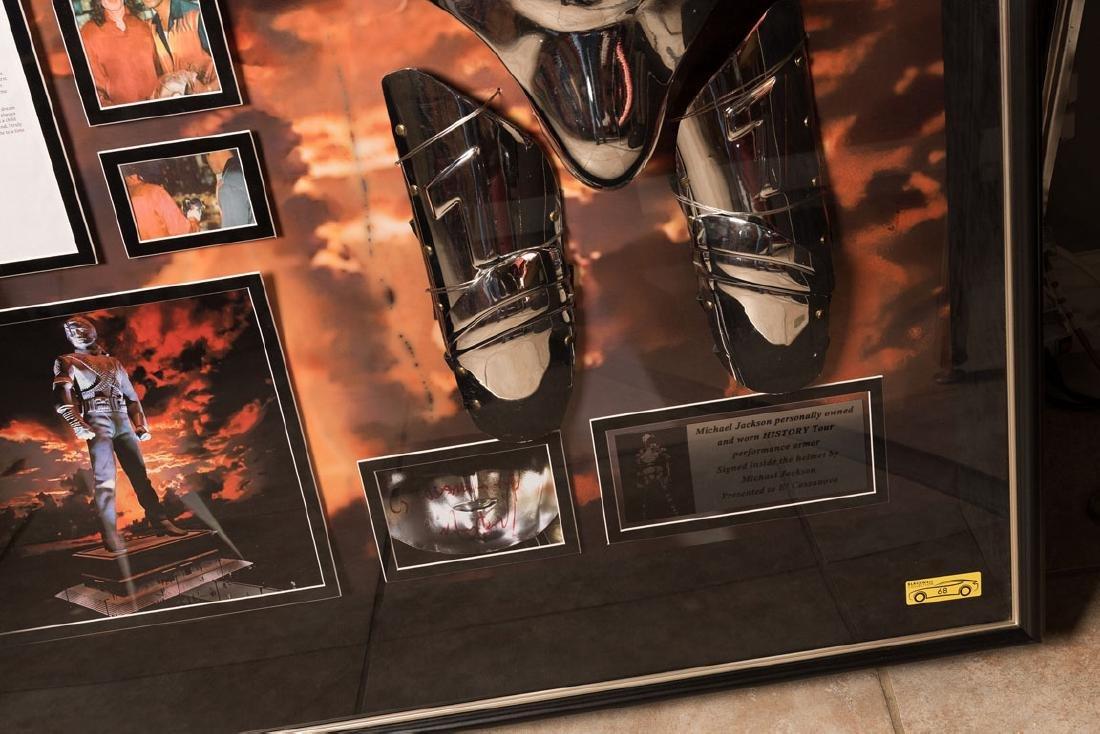 Michael Jackson's Personal Stage-Worn Armor - 2
