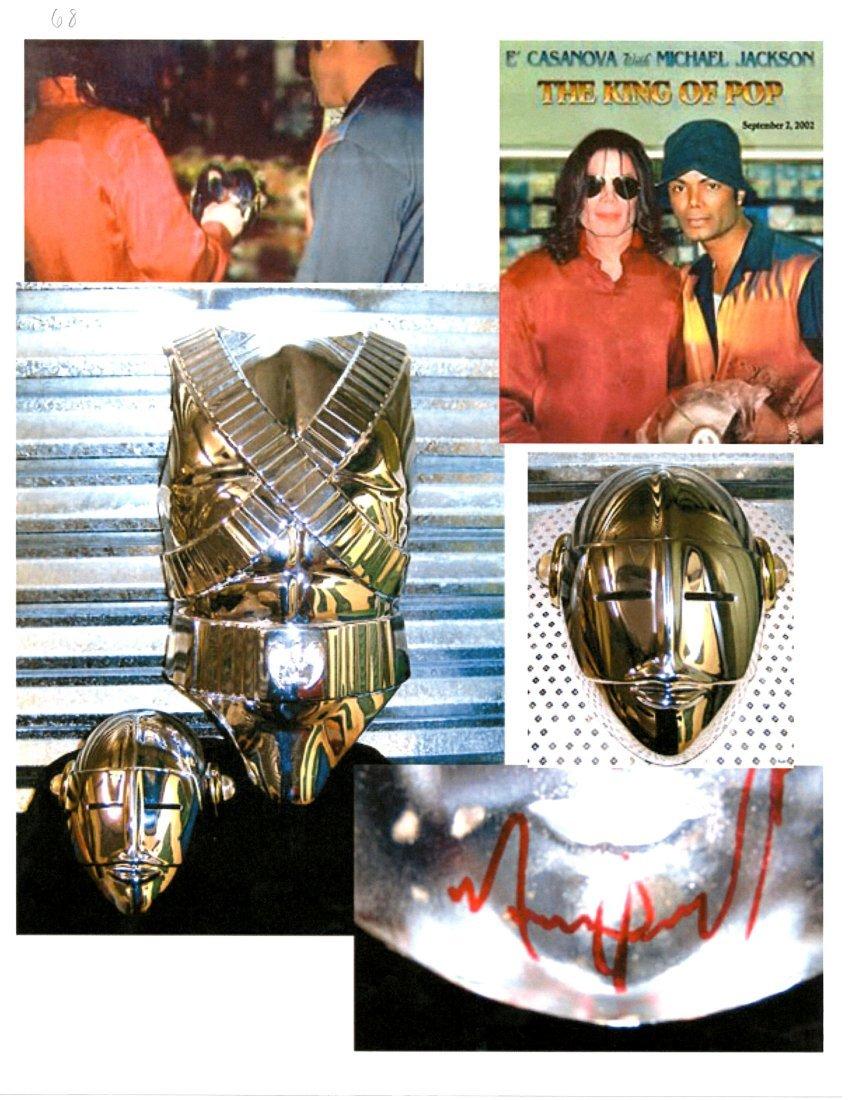 Michael Jackson's Personal Stage-Worn Armor - 5