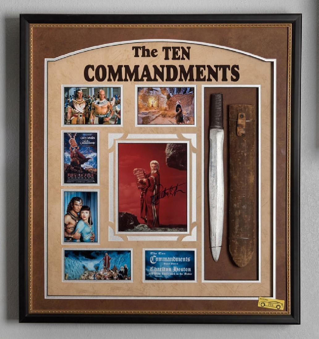 The Ten Commandments Memorabilia