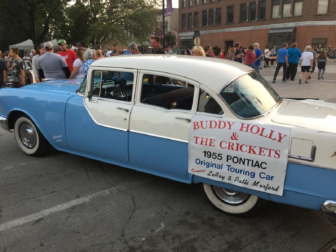 Buddy Holly and The Crickets 1955 Pontiac