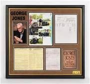 George Jones' Personal Harley Davidson Documents