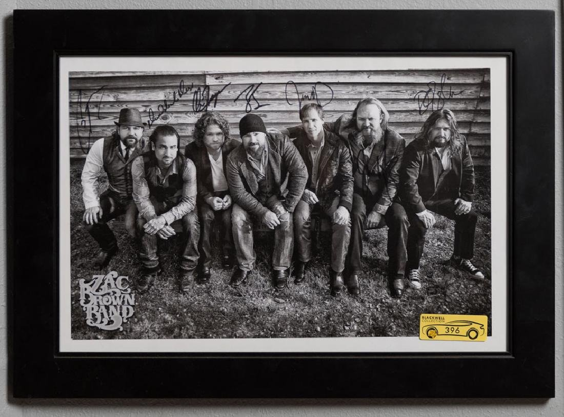 Zac Brown Band Signed Photo