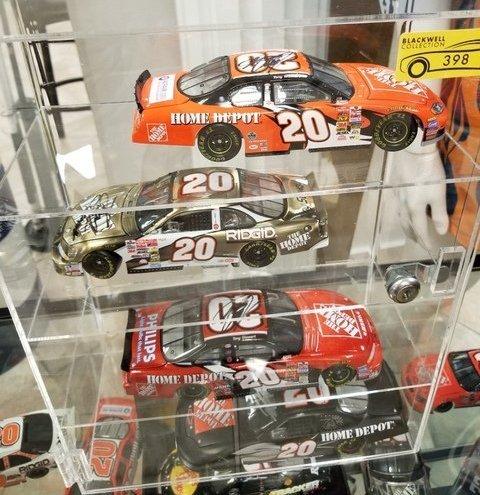 Signed Model Racecars