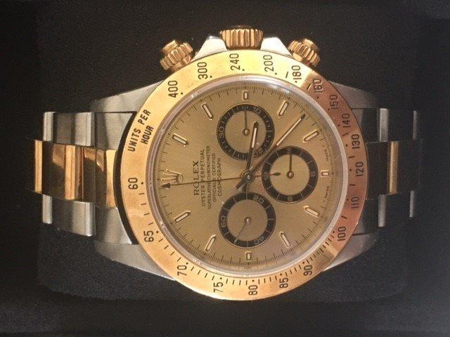 18k Rolex Oyster Perpetual Chronometer Wrist Watch-Mens