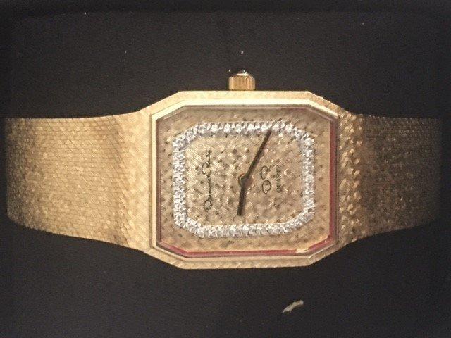 Oscar De La Renta 18K Wrist Watch