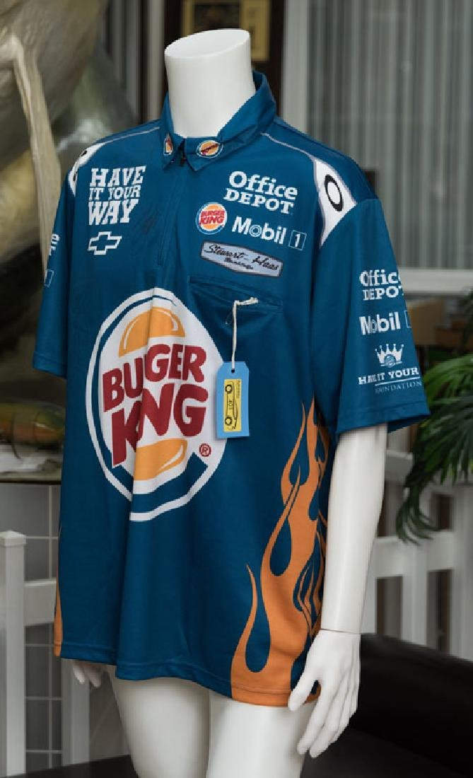 Signed NASCAR Crew Shirt