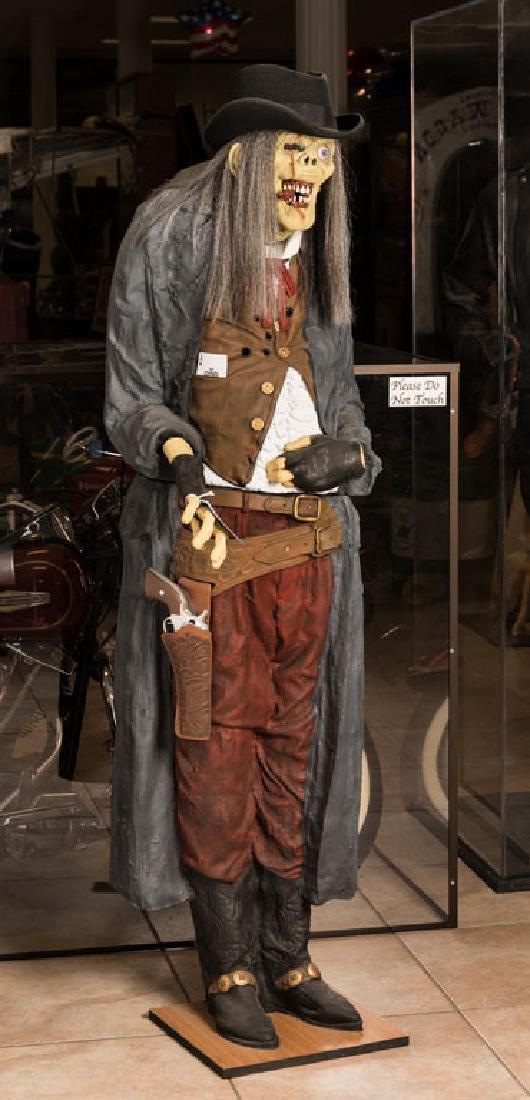 Zombie Cowboy Statue