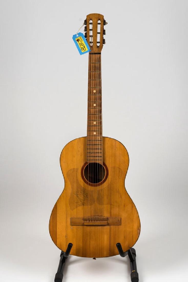 Elvis Presley Signed Guitar