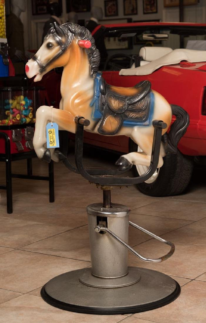 Galaxy Horse Child's Barber Chair
