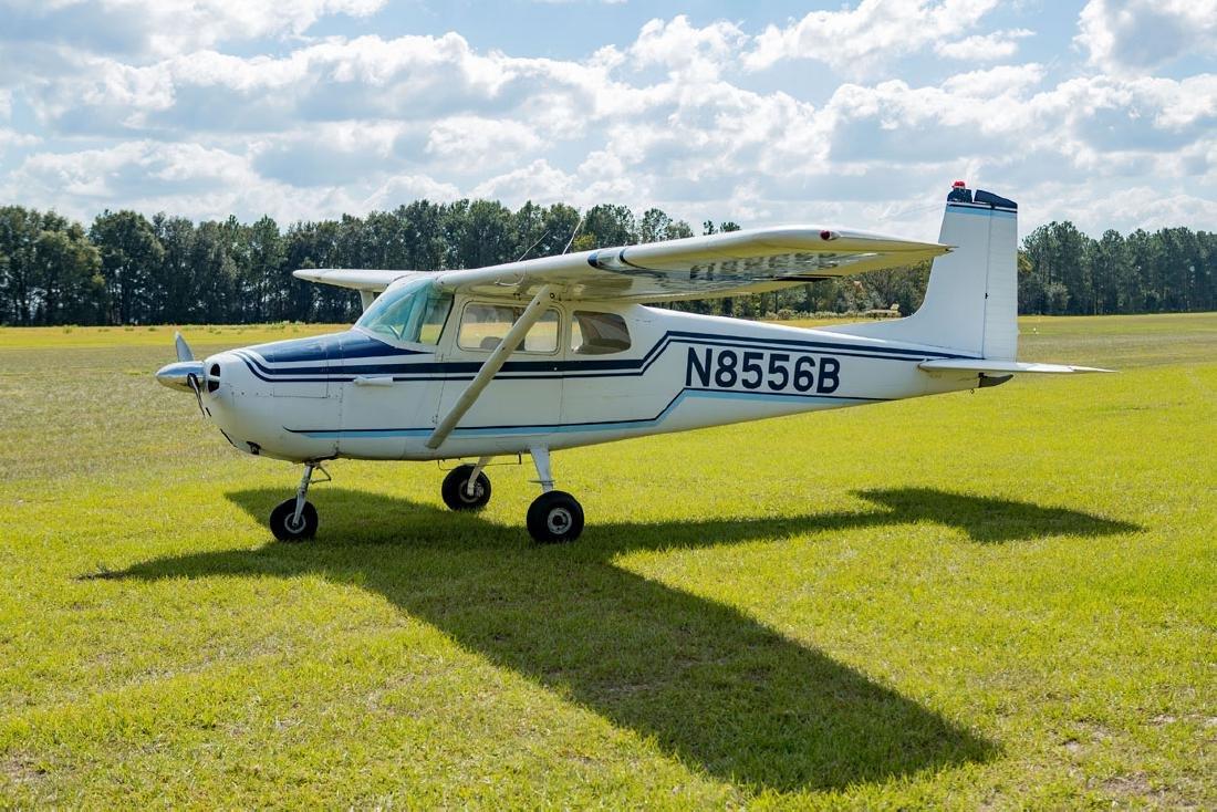 Buddy Holly Cessna 172 Plane and Sgd Flight Log Book