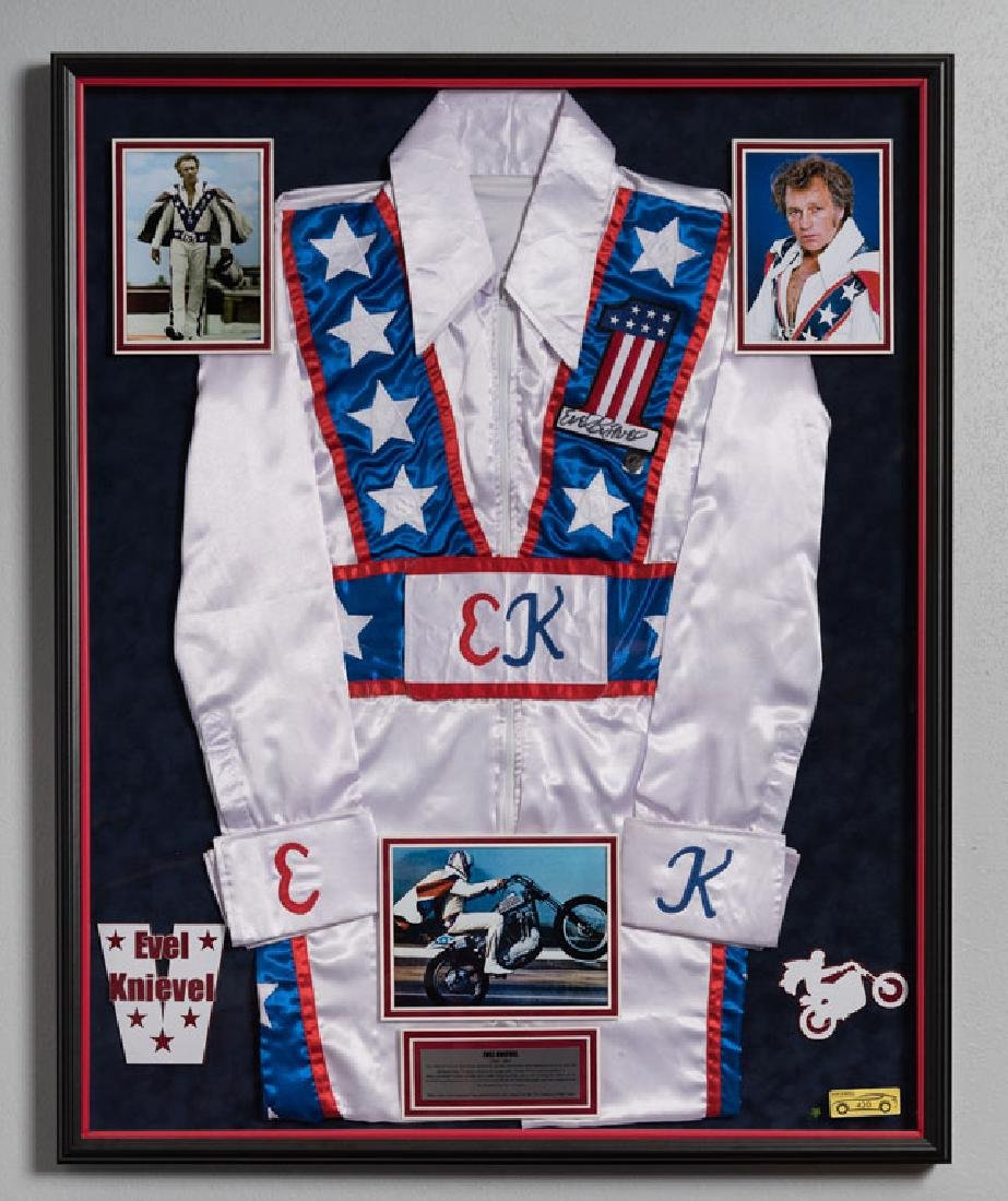 Evel Knievel Signed Jumper Suit