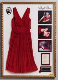 Marilyn Monroe's Stunning Red Dress