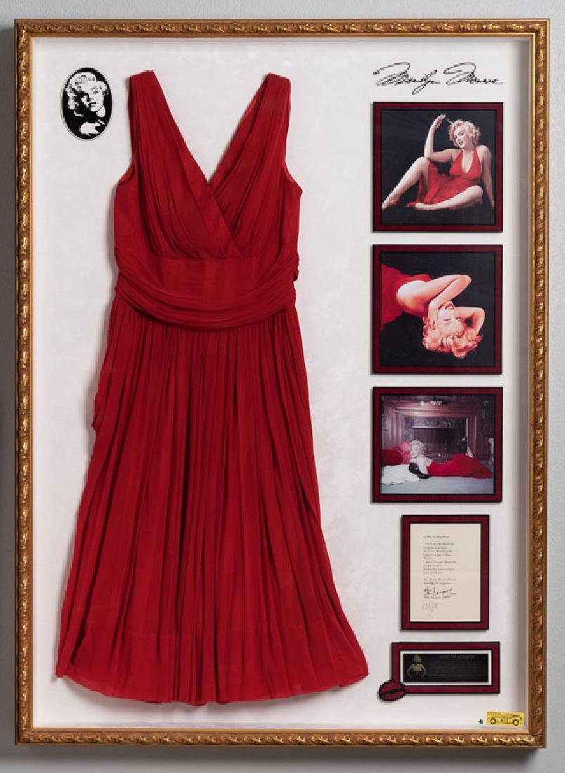 Marilyn Monroe's Stunning Red Dress