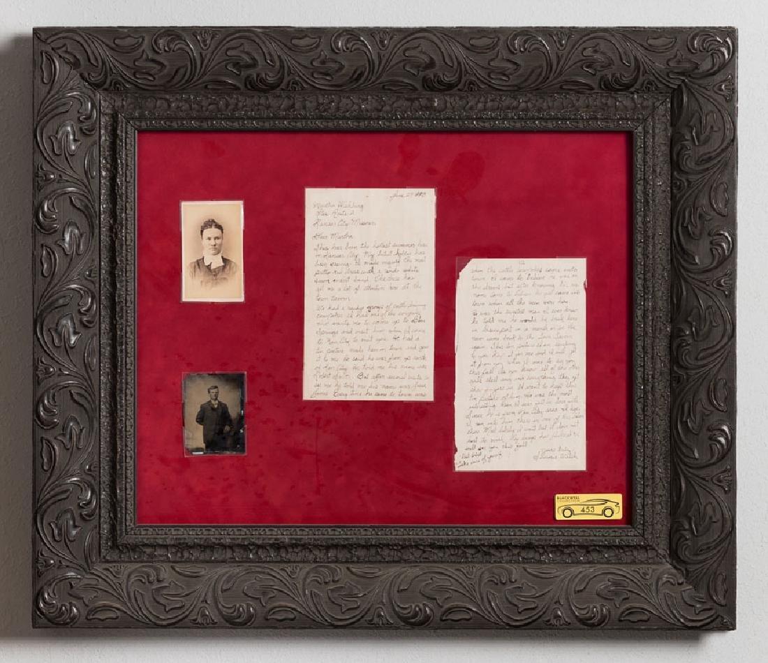 Jesse James Tintype