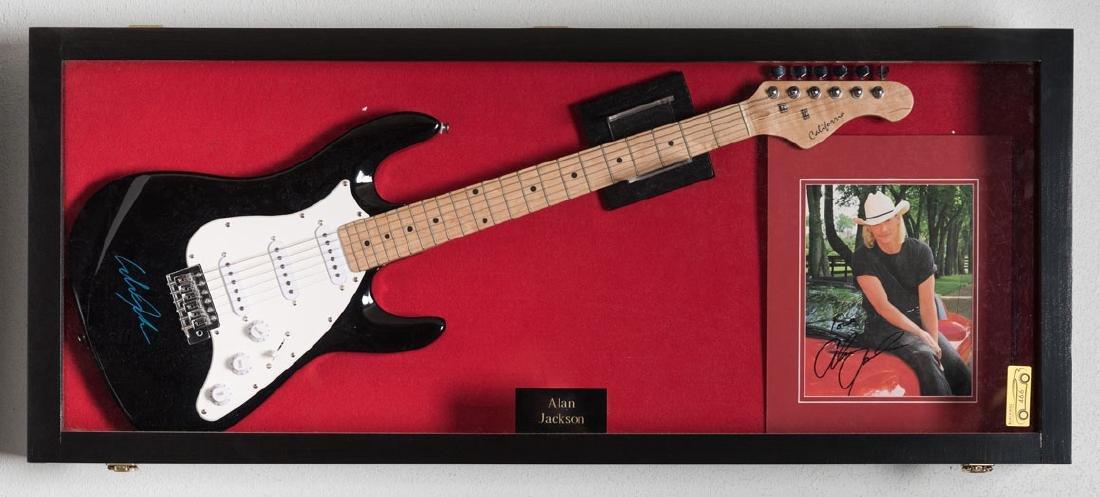 Alan Jackson Signed Guitar