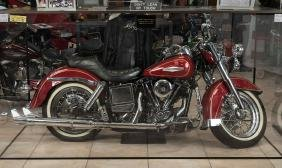 1980 Harley Davidson Softail Owned And Signed By Arnold