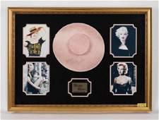 Marilyn Monroe Pink Hat