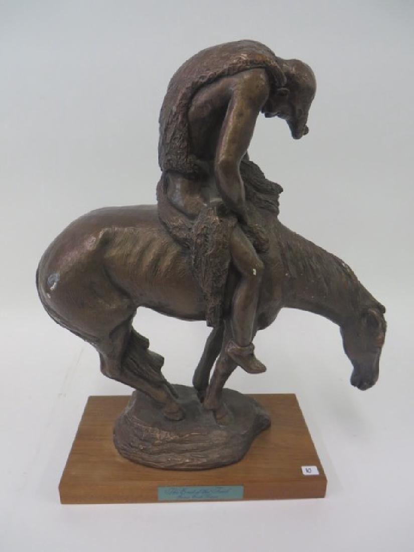 After James Earl Fraser. Indian Bronze