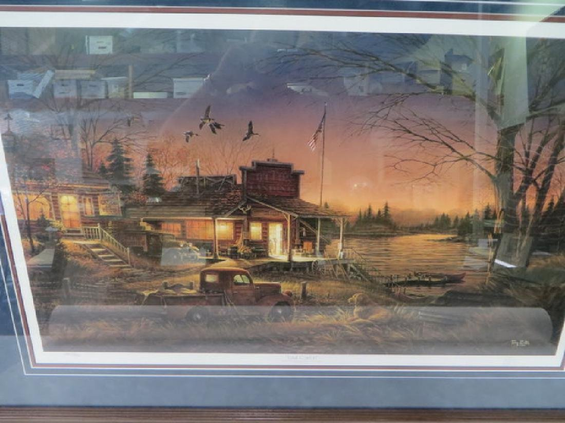 """Terry Redlin. """"Total Comfort"""" Lithograph - 3"""