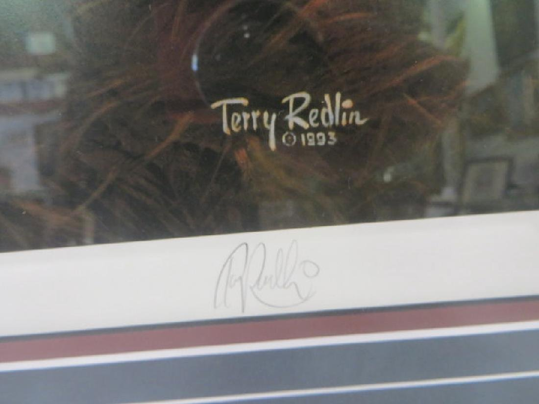 """Terry Redlin. """"Total Comfort"""" Lithograph - 4"""