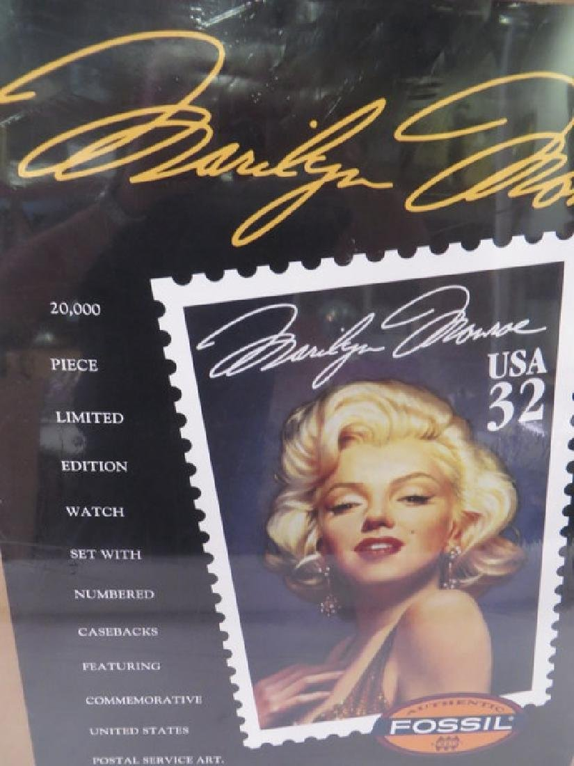 Marilyn Monroe Poster - Fossil Watches