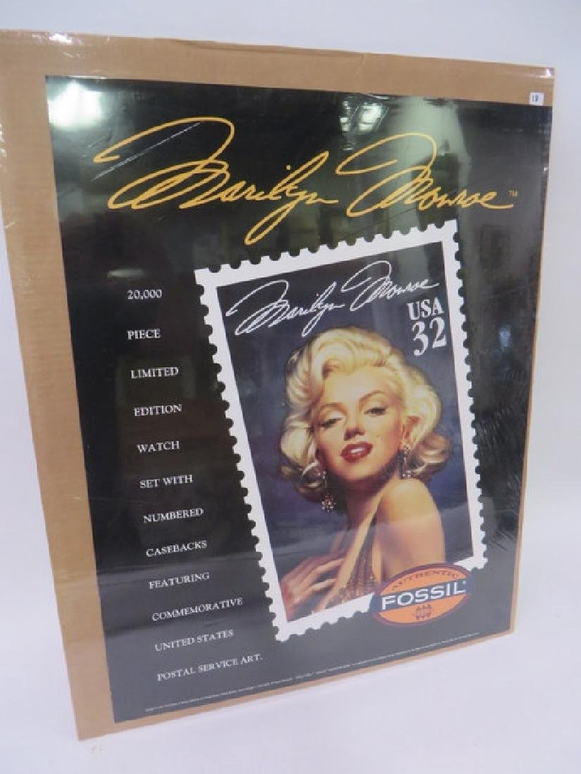 Marilyn Monroe Poster - Fossil Watches - 2