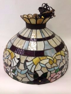 Leaded Glass Antique Dome