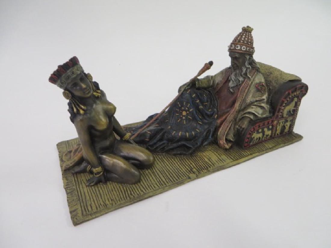 Vienna Bronze. Polychromed. - 2