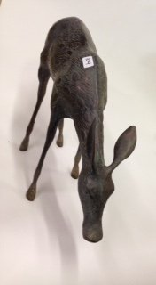 Brass Deer Figure