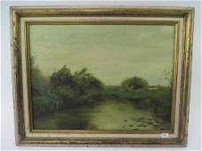 G. A Sicard. Oil. Southern Landscape.