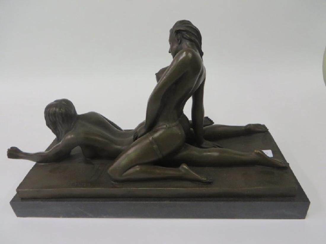 Bronze Figure Erotic Women