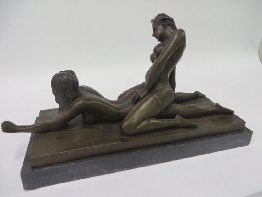 Bronze Figure Erotic Women - 2