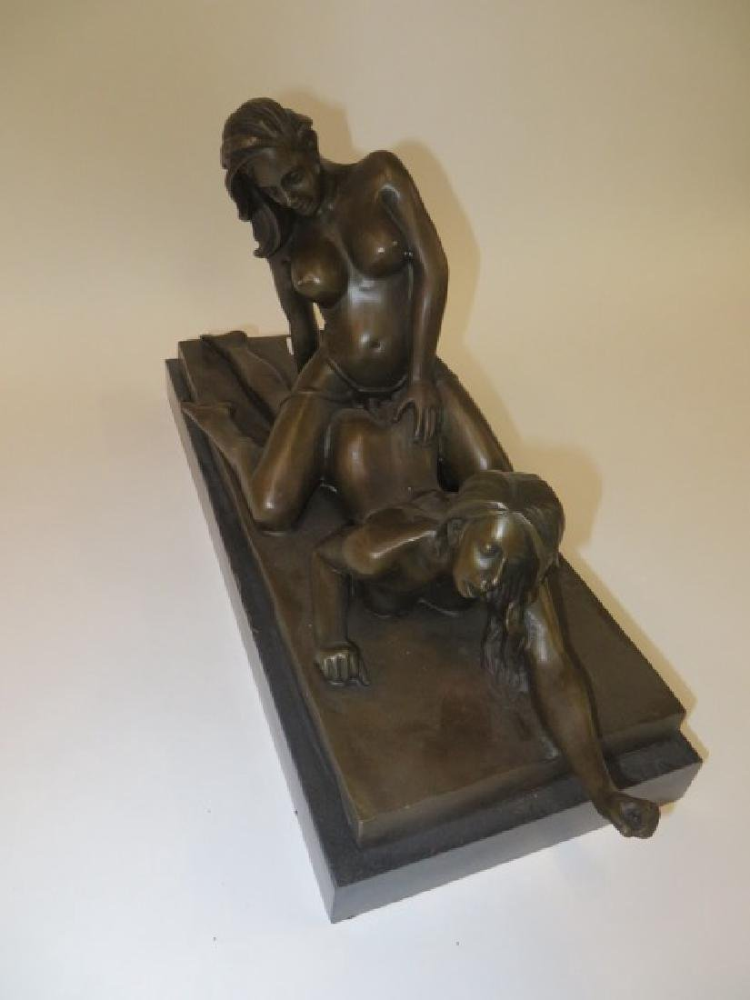 Bronze Figure Erotic Women - 4