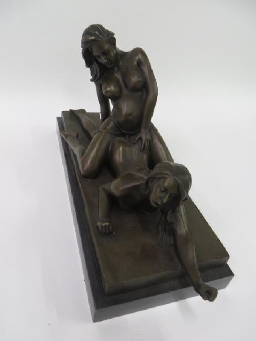 Bronze Figure Erotic Women - 5