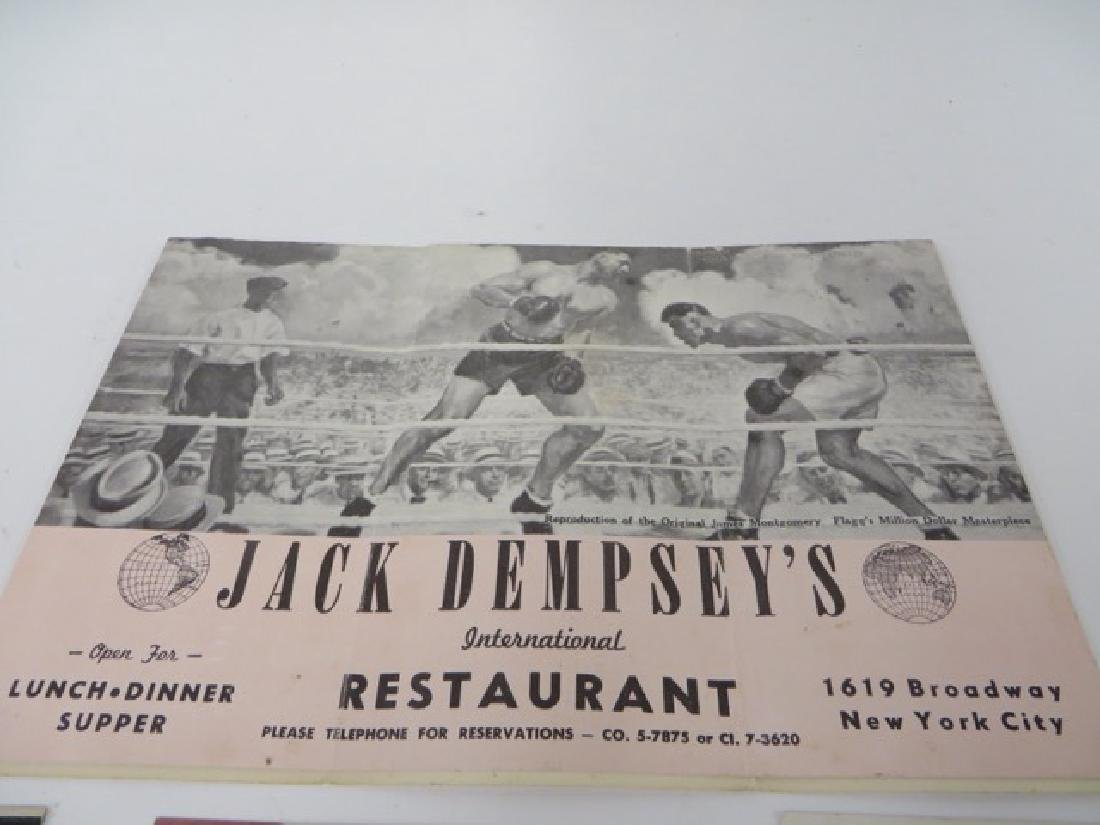 Jack Dempsey Autograph & Memorabilia - 2