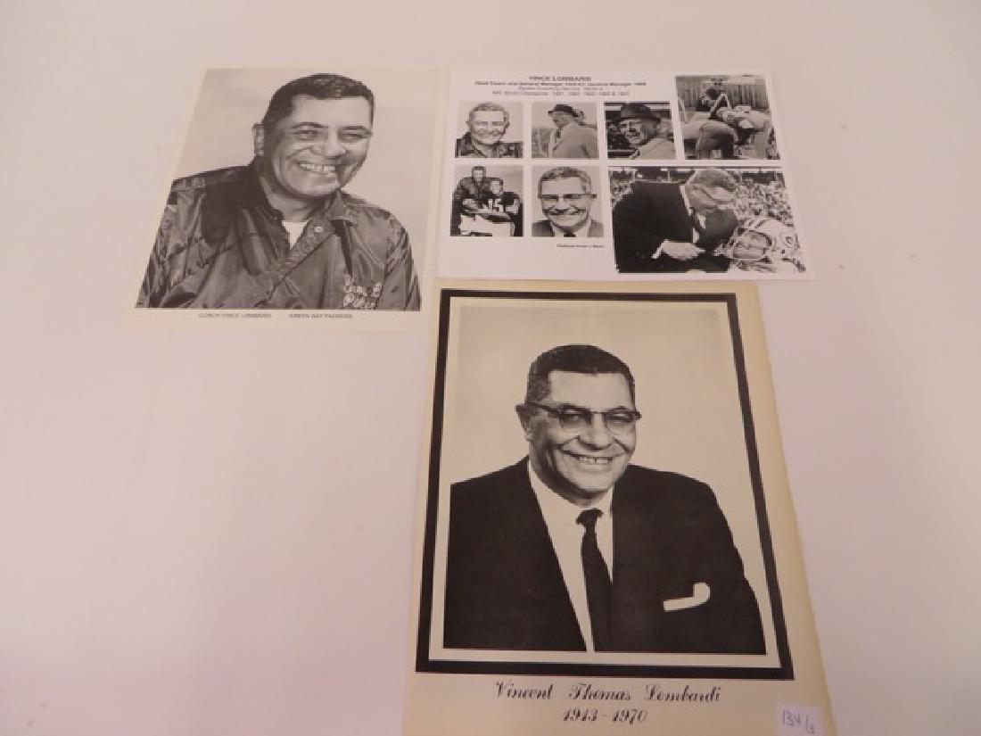 Vince Lombardi Memorabilia