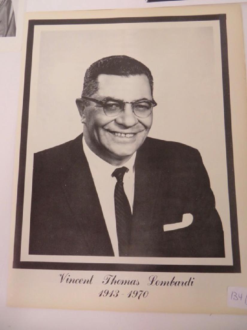 Vince Lombardi Memorabilia - 3