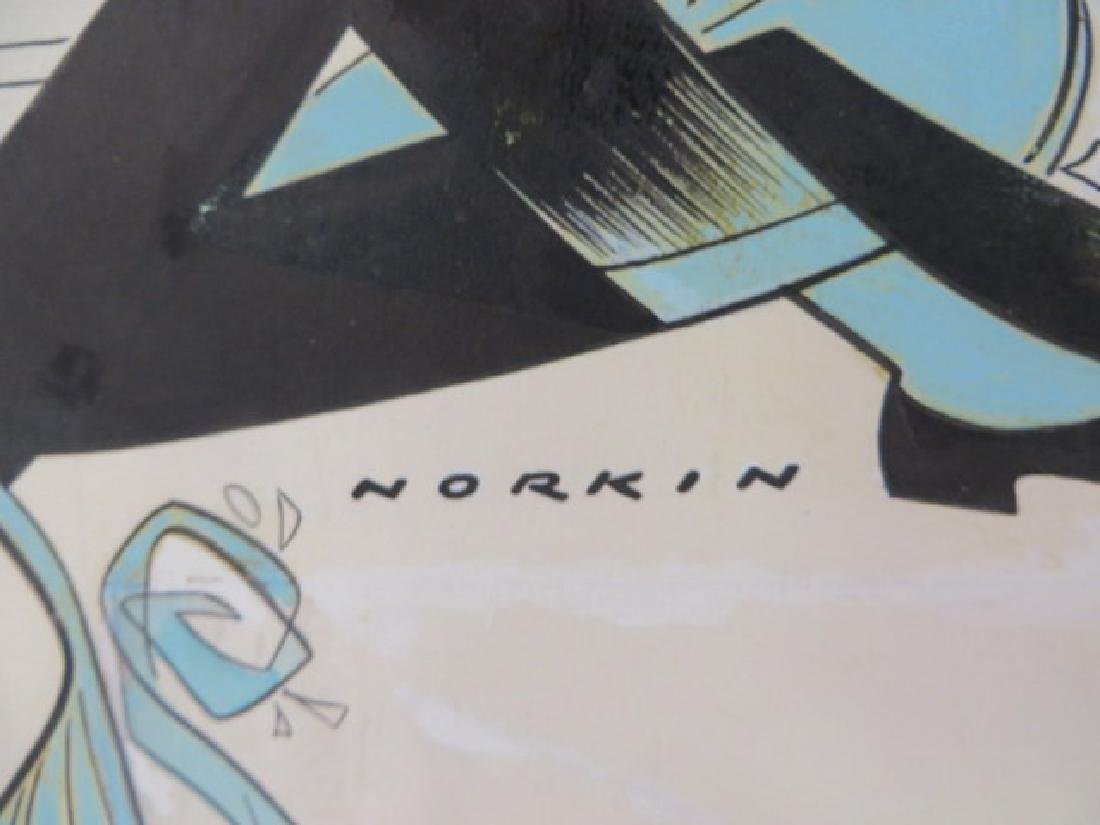 Sam Norkin Original Pen and Ink Sgd. - 2