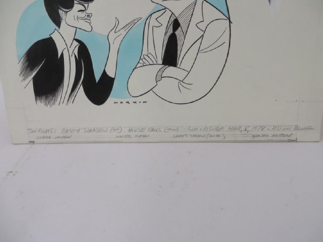 Sam Norkin Original Pen and Ink Sgd. - 3