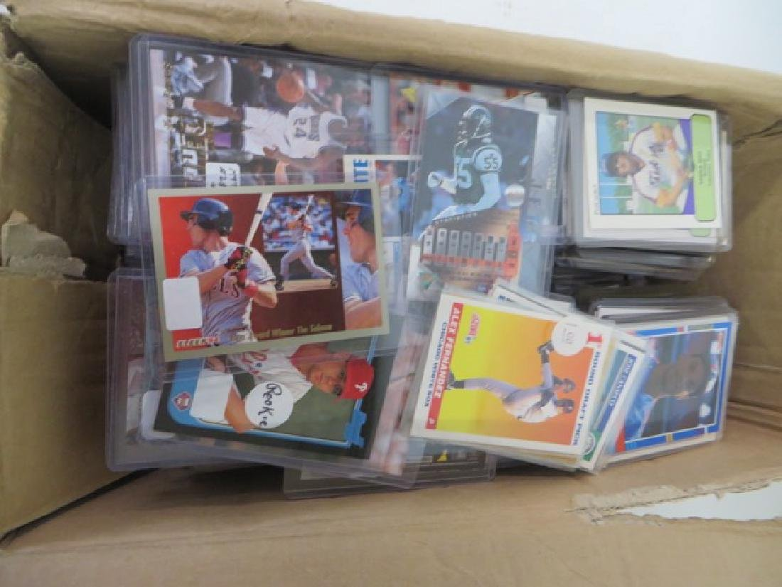 Baseball Cards and Others. Approx. 800