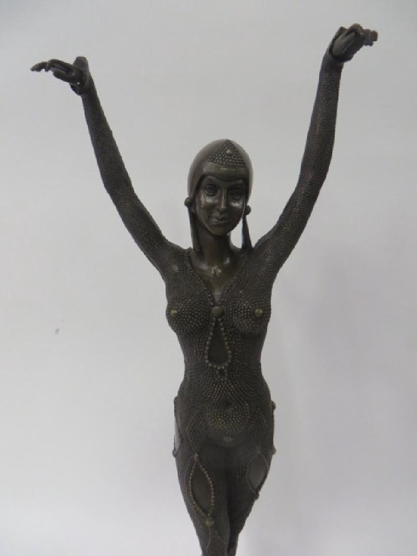 Art Deco Bronze in the style of Chiparus - 2