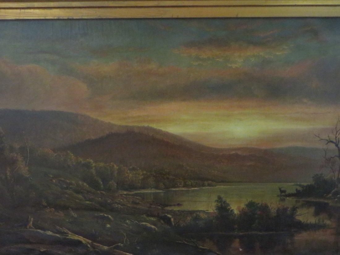 Homer Dodge Martin. 19th C. Oil. Signed - 6