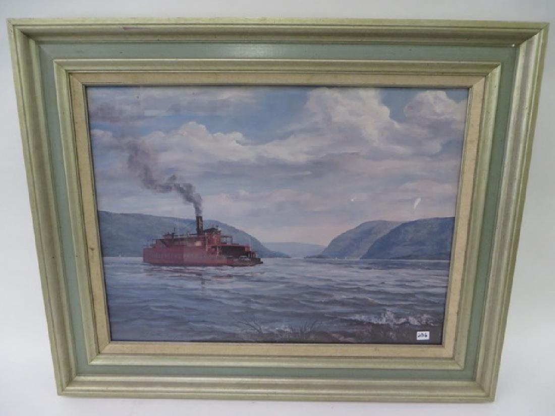 Gould. Ferry Crossing Hudson Newburgh