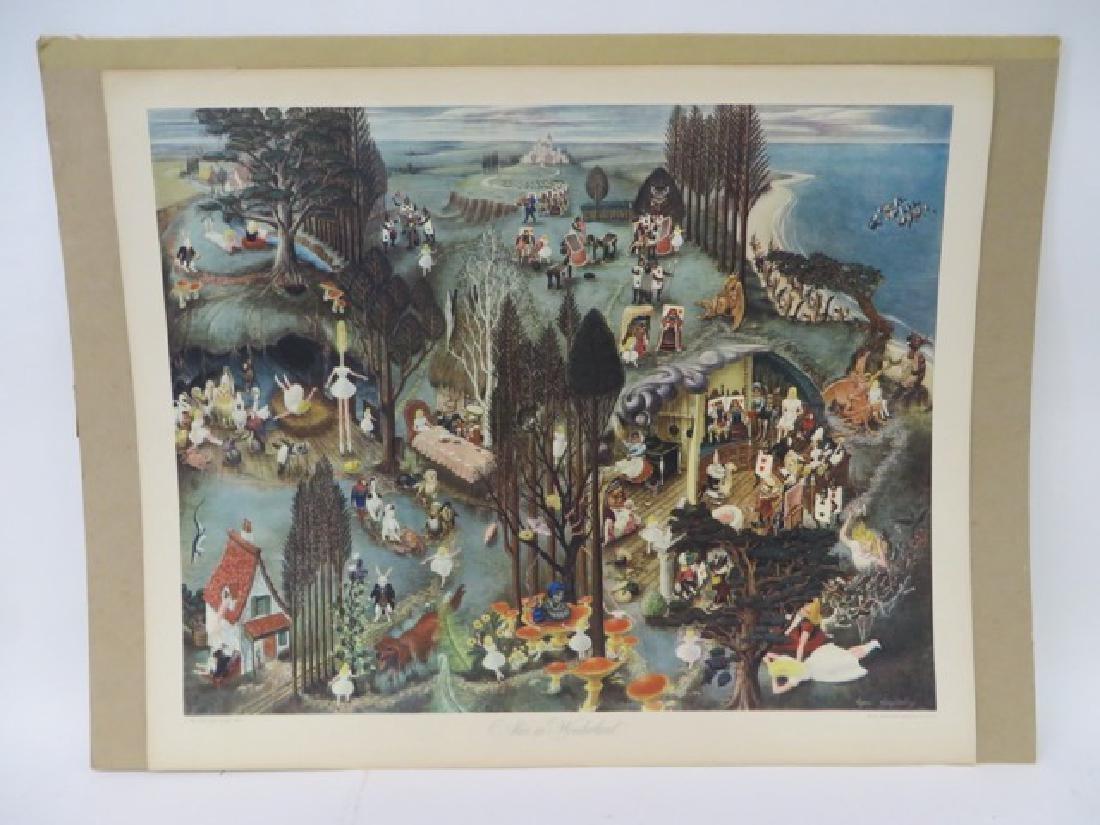 Ayres Houghtelling. Alice in Wonderland