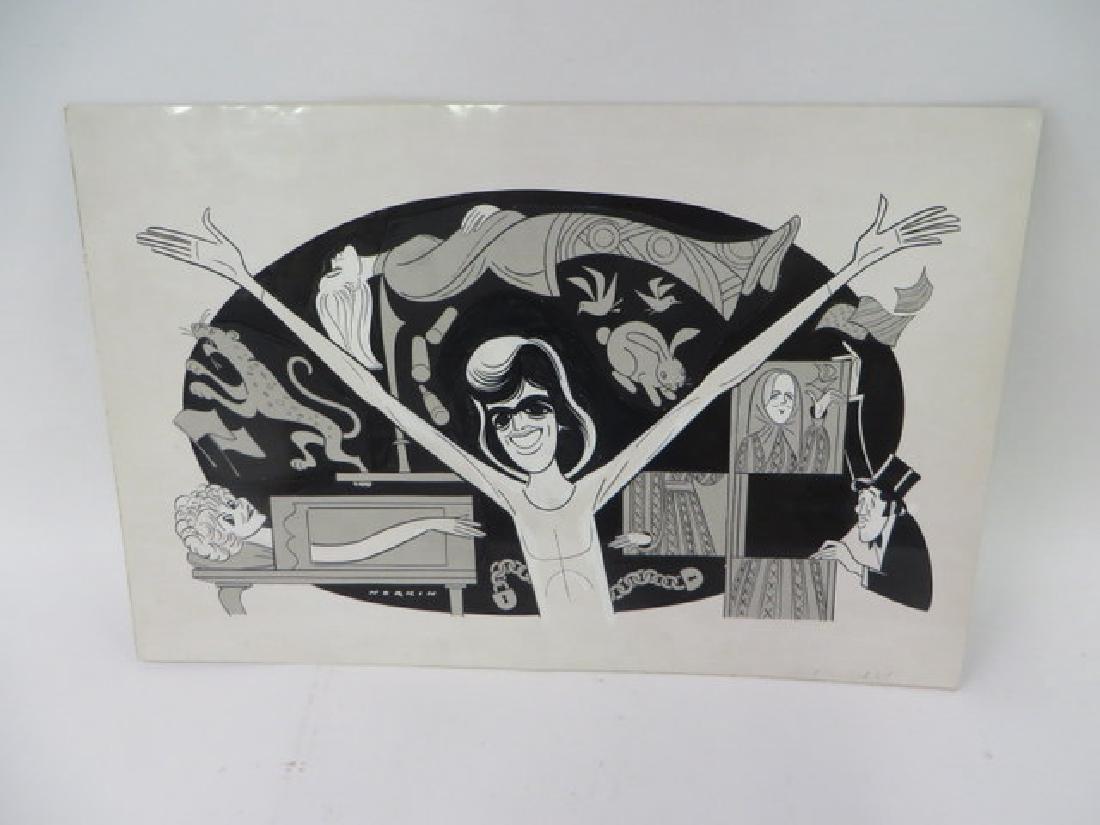 Sam Norkin. Original Illustration. Sgd.