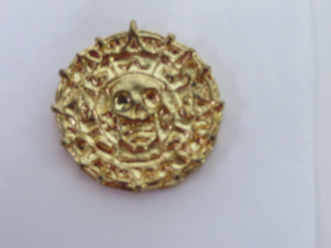 Film Prop. Pirates of the Caribbean Coin