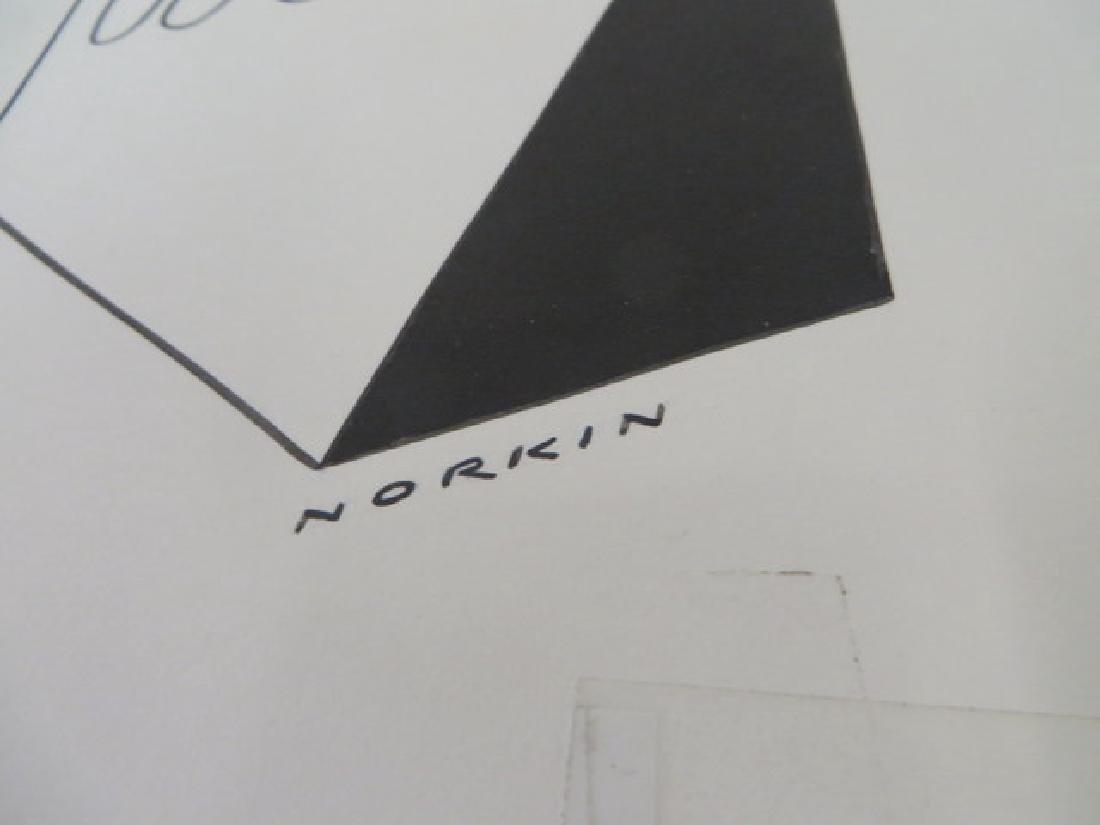 Sam Norkin. Original Illustration. Sgd. - 3