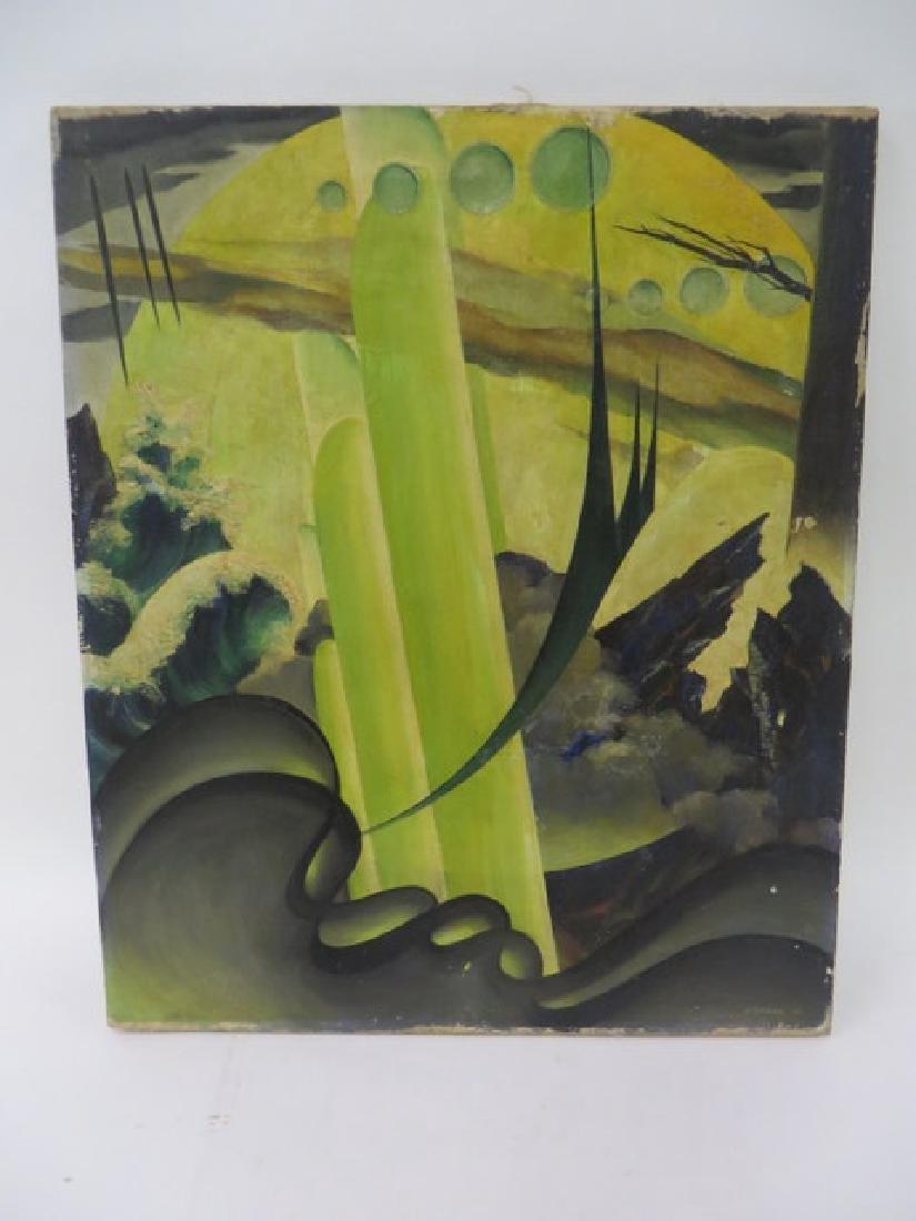 Sam Norkin Original Oil Sgd.